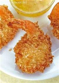 Fried Cocount Shrimp