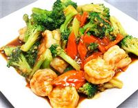 shrimp w. Mixed Veg