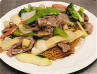Beef Pan Fried Noodle