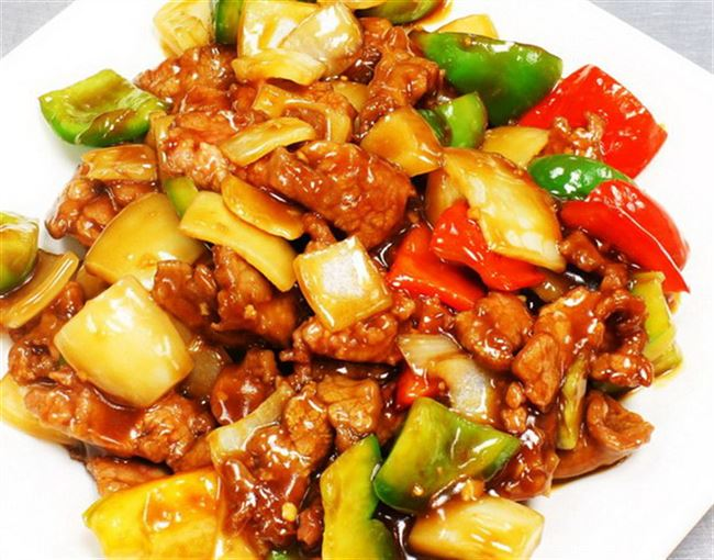 beef pepper steak
